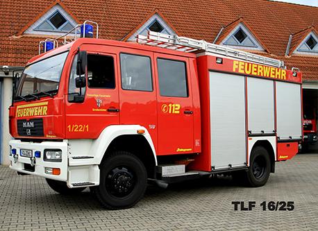 Tanklöschfahrzeug (TLF) 16/25