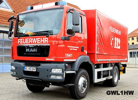 Gerätewagen Logistik 1 Hochwasser (GW-L1 HW)