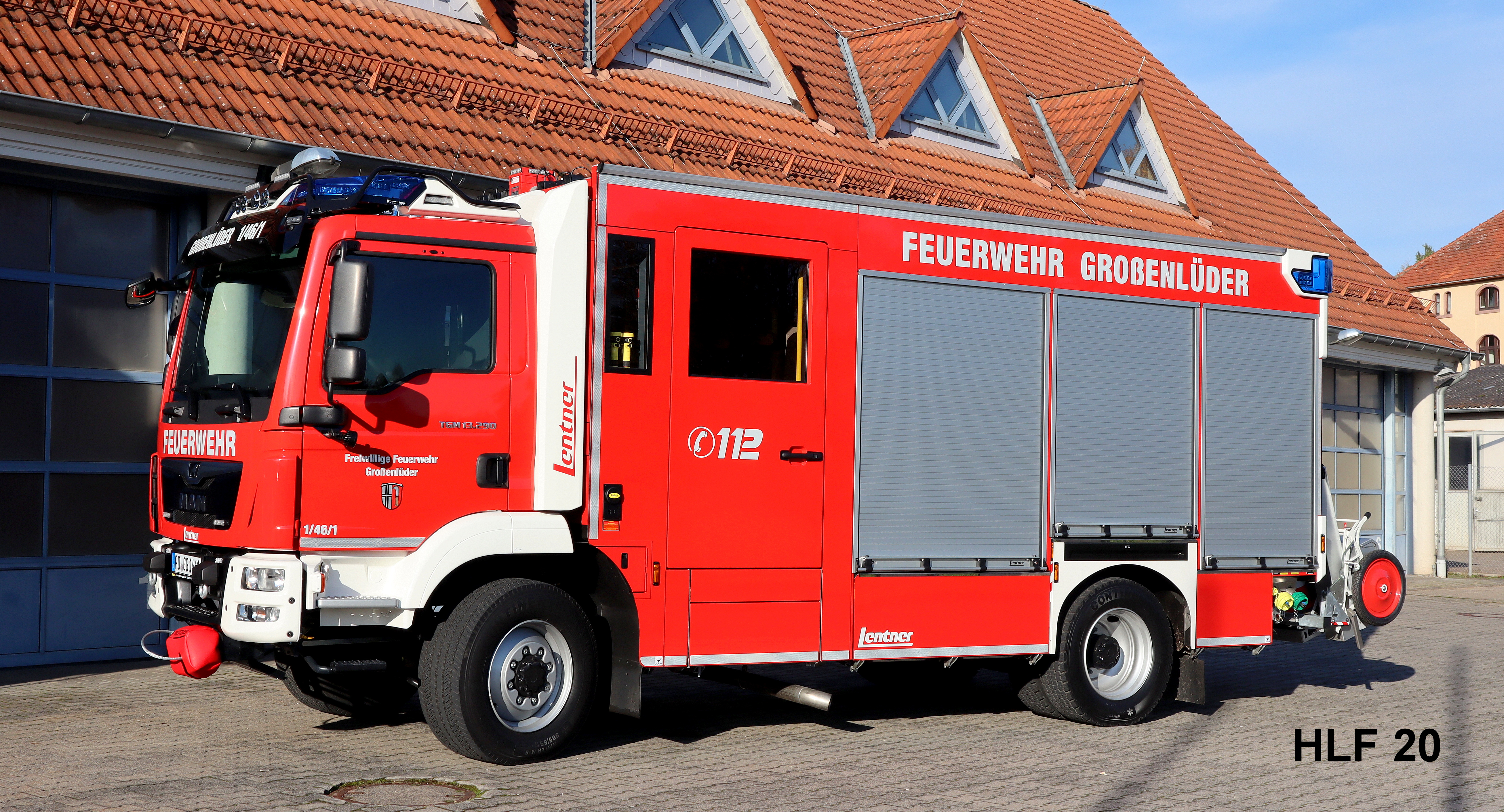 Hilfeleistungslöschgruppenfahrzeug (HLF)20